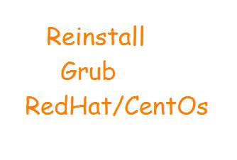 Linux Troubleshooting: Fix Grub Filesystem Type Unknown Error On Centos/Redhat