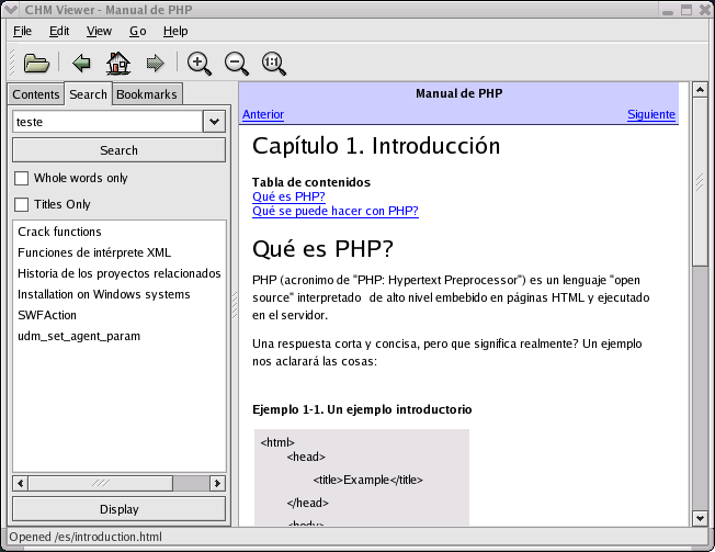 compiled html file reader