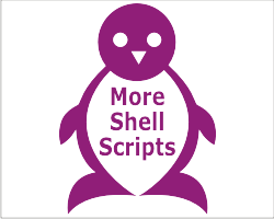 shell script run command home directory