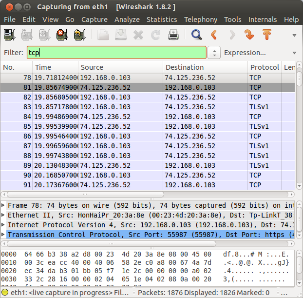 wireshark protocol filter